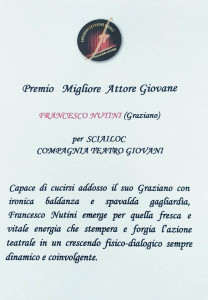 FRANCESCO NUTINI BOTTEGONE