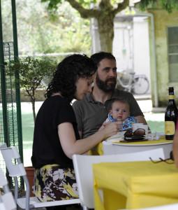 Marta Conforti, Lorenzo Ricciarelli e Zeno