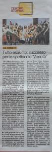 Articolo Tirreno