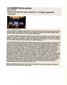 Varietà - La gazzetta di Lucca720